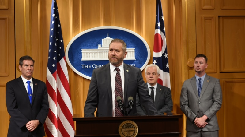 State Rep. Thomas Hall (R-Madison Twp.) today joined State Reps. Craig S. Riedel (R-Defiance),...