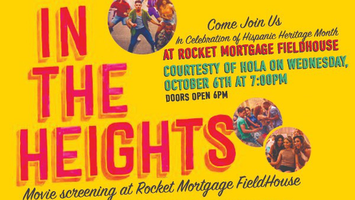 """""""In The Heights"""" Watch Party"""