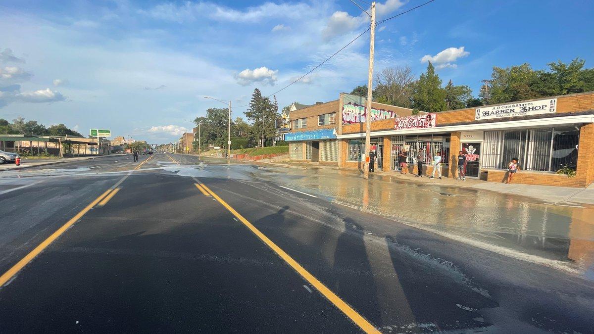 Euclid Avenue closed