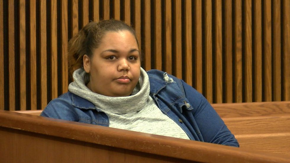 Kirsten Laurie in court (Source: WOIO)