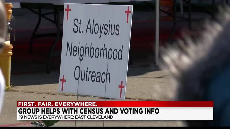 St. Aloysius Parish doing last push in East Cleveland to get census, voter registration forms in