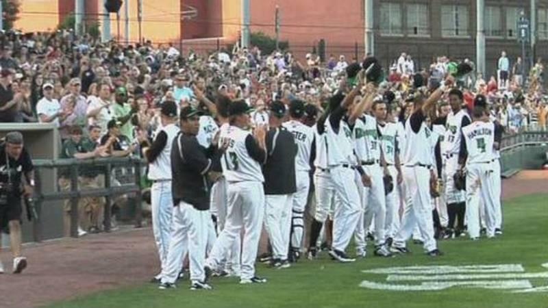 The City of Dayton worked with Mandalay Baseball to build the Dayton Dragons stadium.