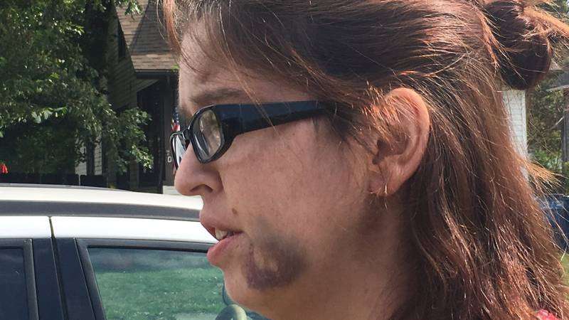 It's been a traumatic week for Nicole Shaffer and her husband Adam after a neighbor dispute...