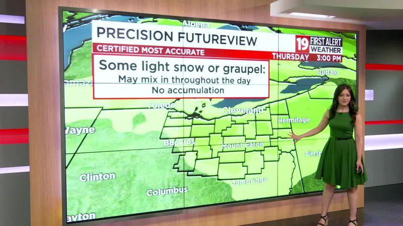 Northeast Ohio weather: Pleasant stretch before unsettled, chilly weather later this week