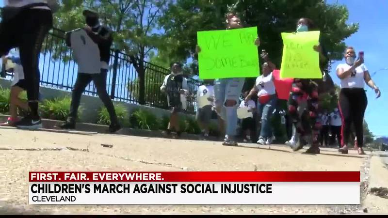 Peaceful youth rally was held in Cleveland to teach children about social justice