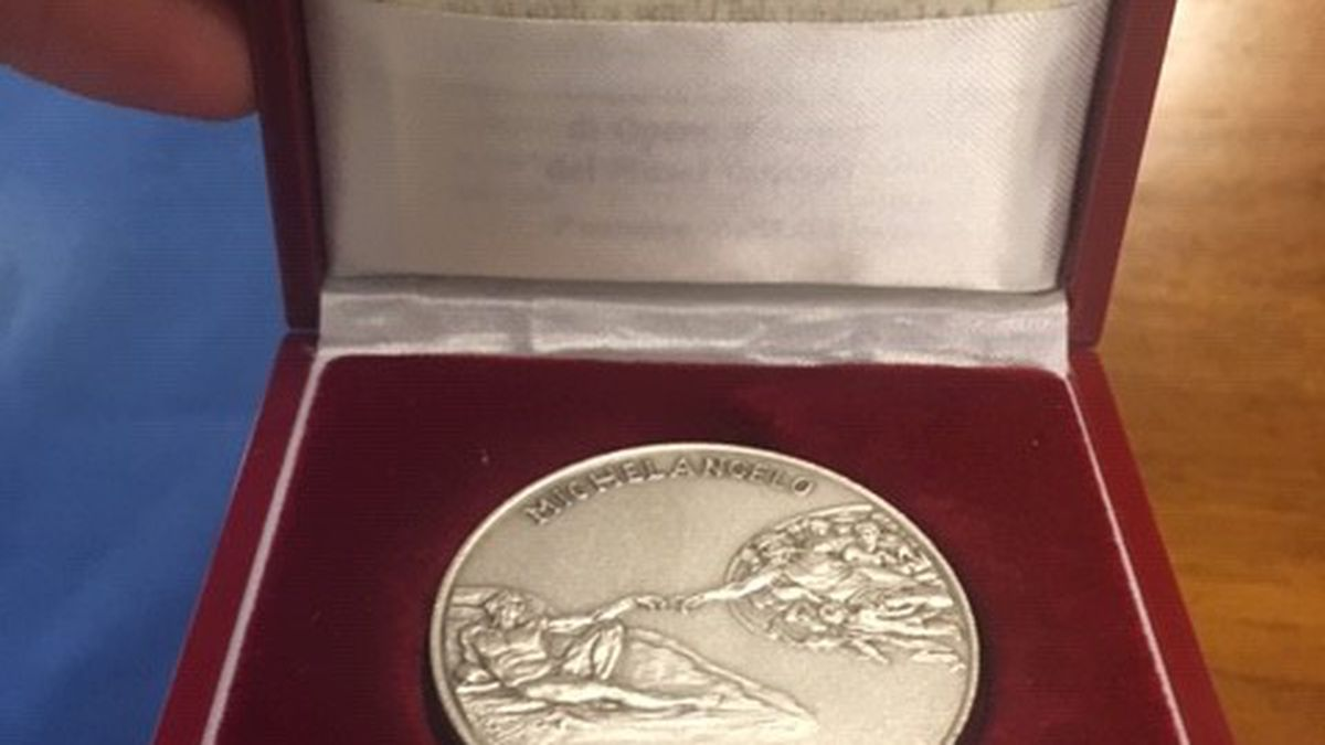 A Vatican coin, now property of Ohio's Division of Unclaimed Funds.