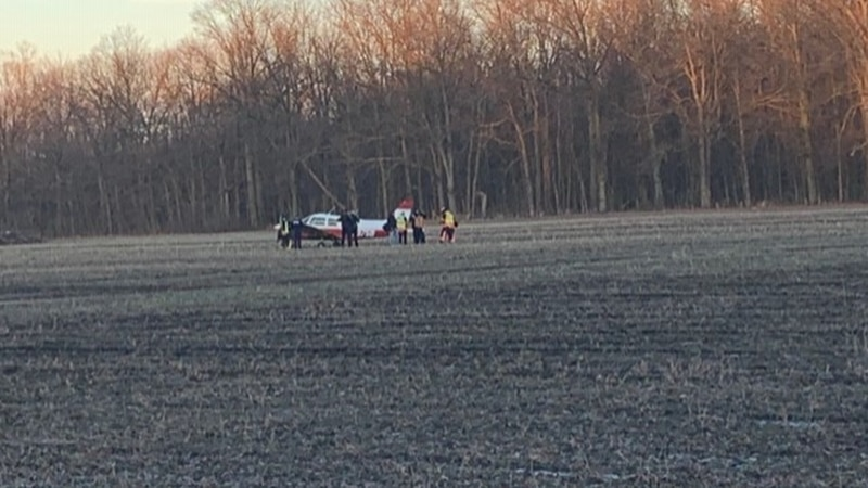 No injuries after plane makes emergency landing in Avon cornfield after engine suddenly quits,...