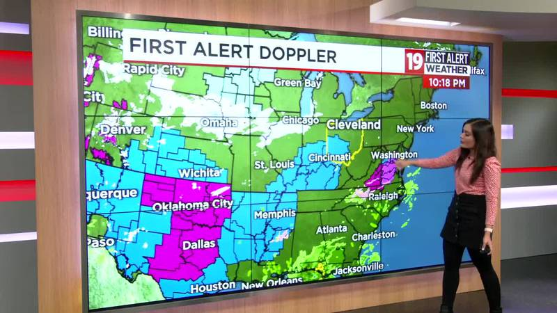 19 First Alert Weather Days: Significant snow expected Monday and Tuesday