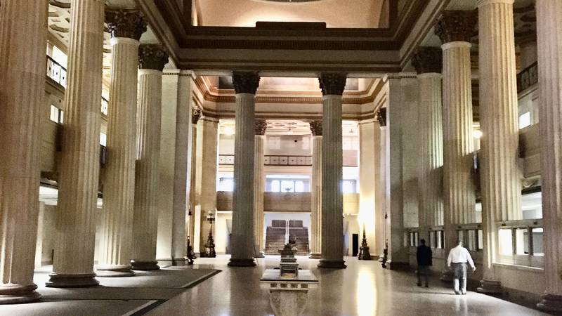 The former Union Trust building on E. 9th and Euclid Ave. will be transformed into the...