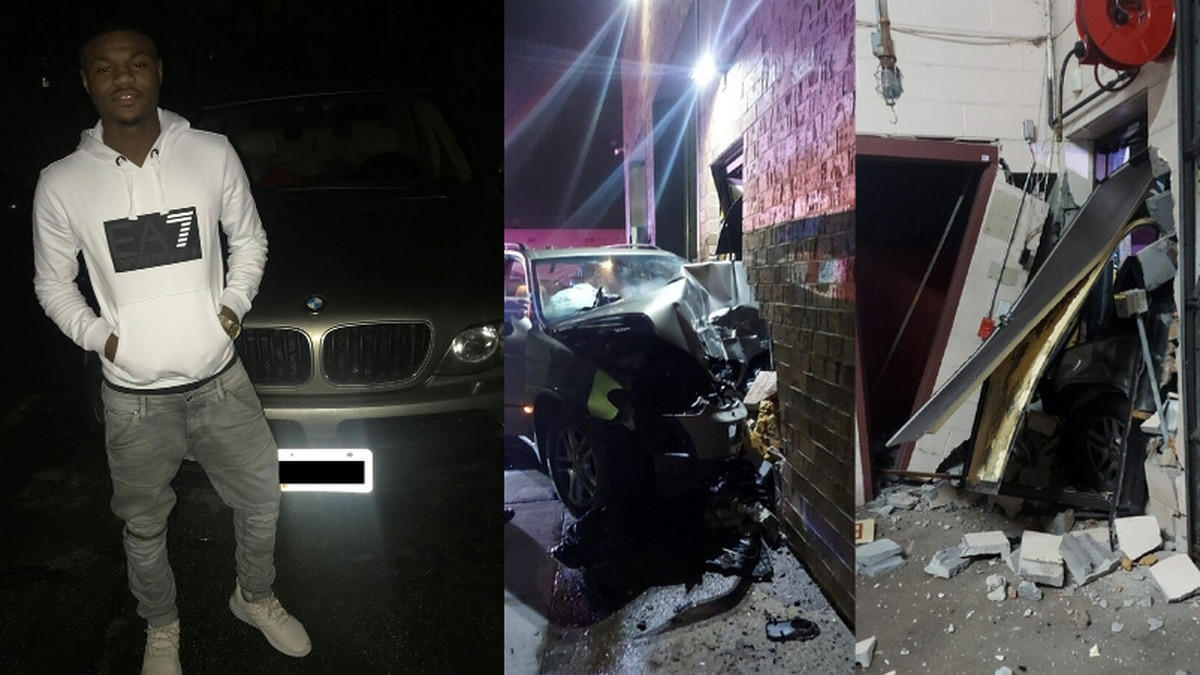 Driver slams into Euclid building after speeding 125 MPH from East Cleveland