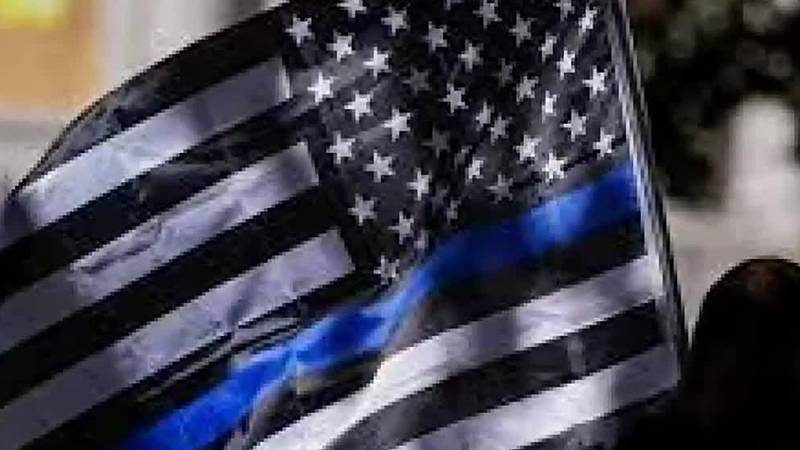 Controversy in Solon community after thin blue line flag taken down.
