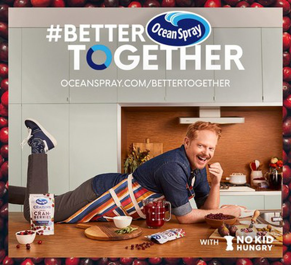 Ocean Spray Launches #BetterTogether Campaign in Partnership with Actor Jesse Tyler Ferguson