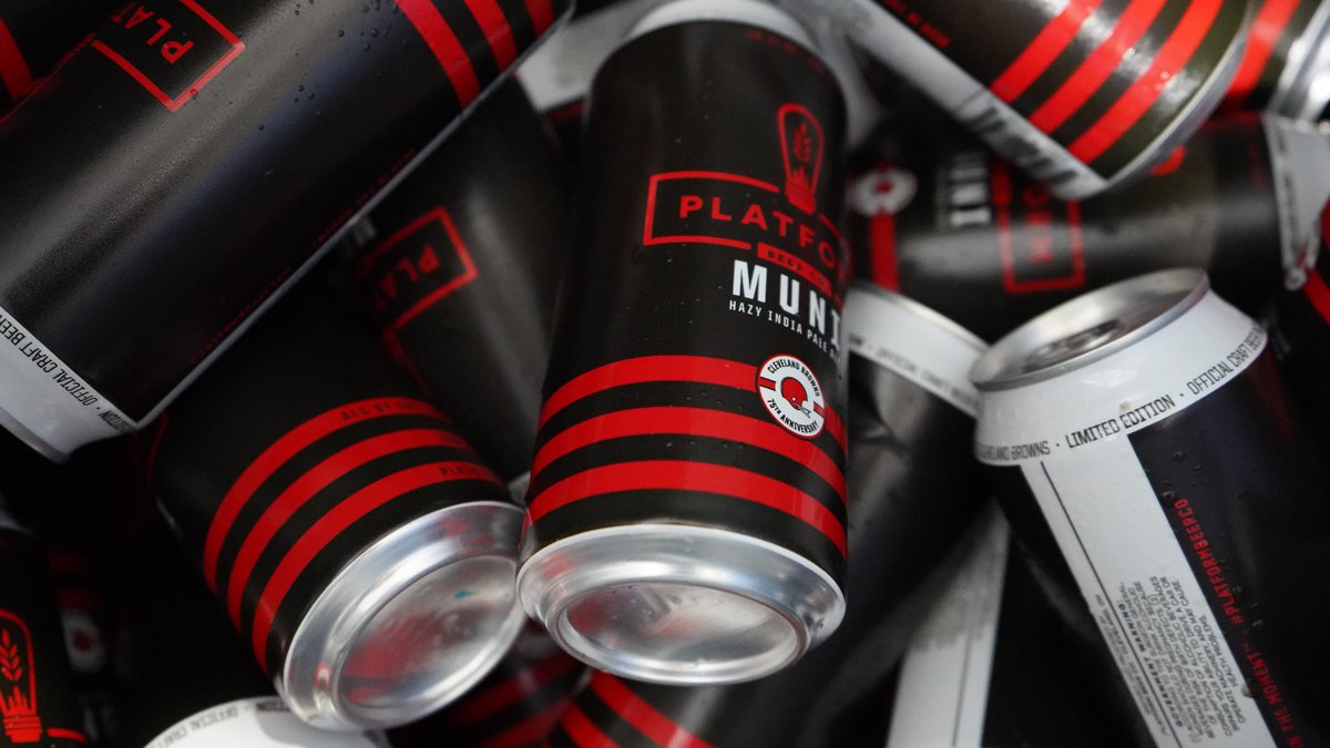 Platform Beer Co. releases Muni hazy IPA in limited edition cans just in time for football...