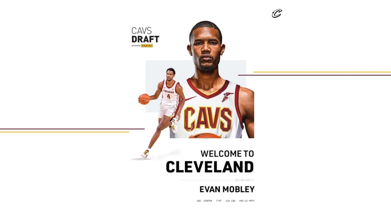Cavaliers select USC's Evan Mobley with 3rd overall pick in 2021 NBA Draft