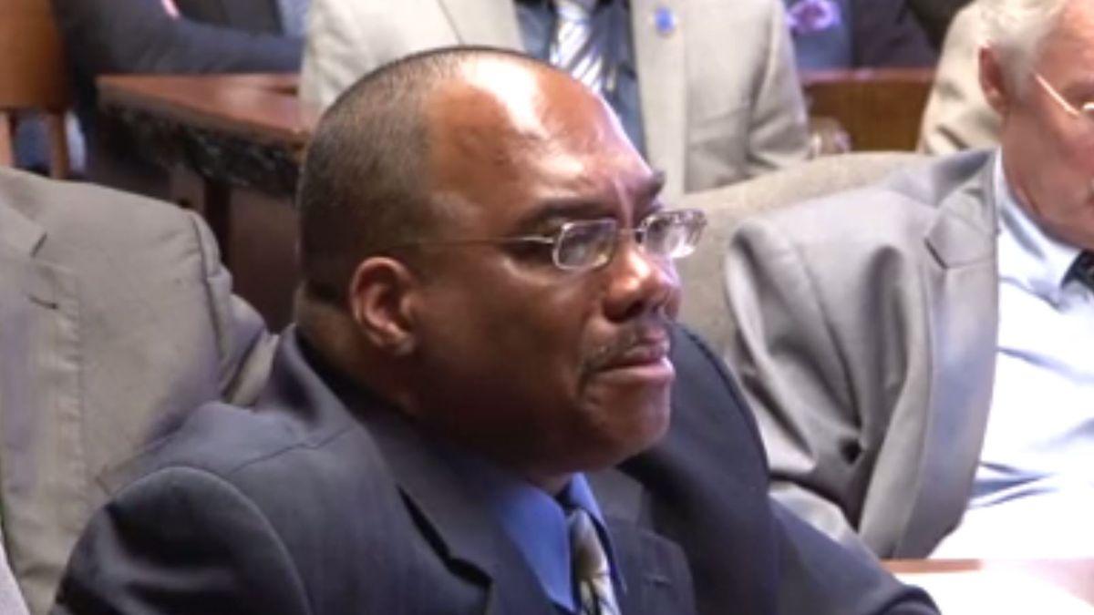 Lance Mason in court in 2015