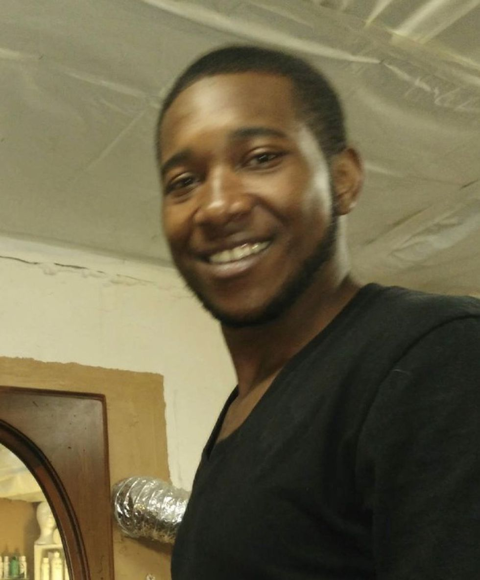 Germaine Smith Jr. was fatally shot outside of a gas station in East Cleveland on April 3, 2020.