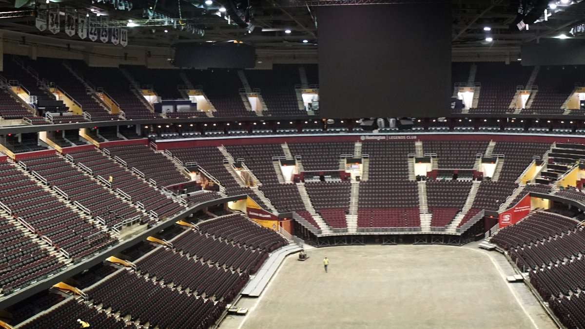 Rocket Mortgage FieldHouse, formally Quicken Loans Arena, is undergoing it's largest renovation...