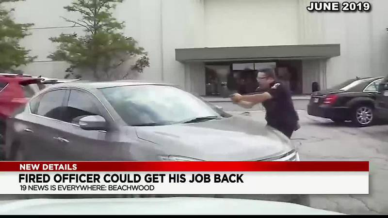 Beachwood police officer who was terminated after shooting a shoplifting suspect could be...