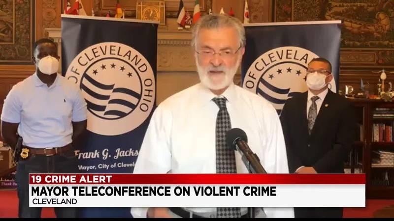 Cleveland Mayor spoke about holiday weekend violence after 27 shot, 4 killed