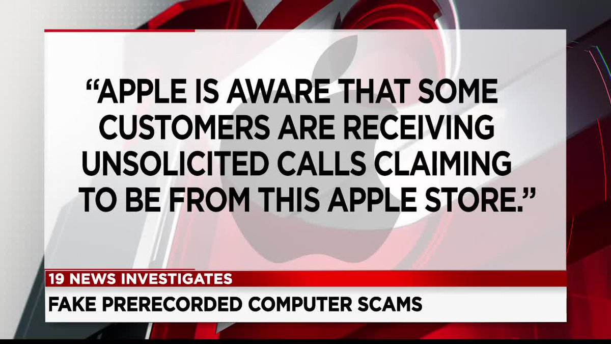 Tech support scams on the rise as impostors pretend to be companies like Apple
