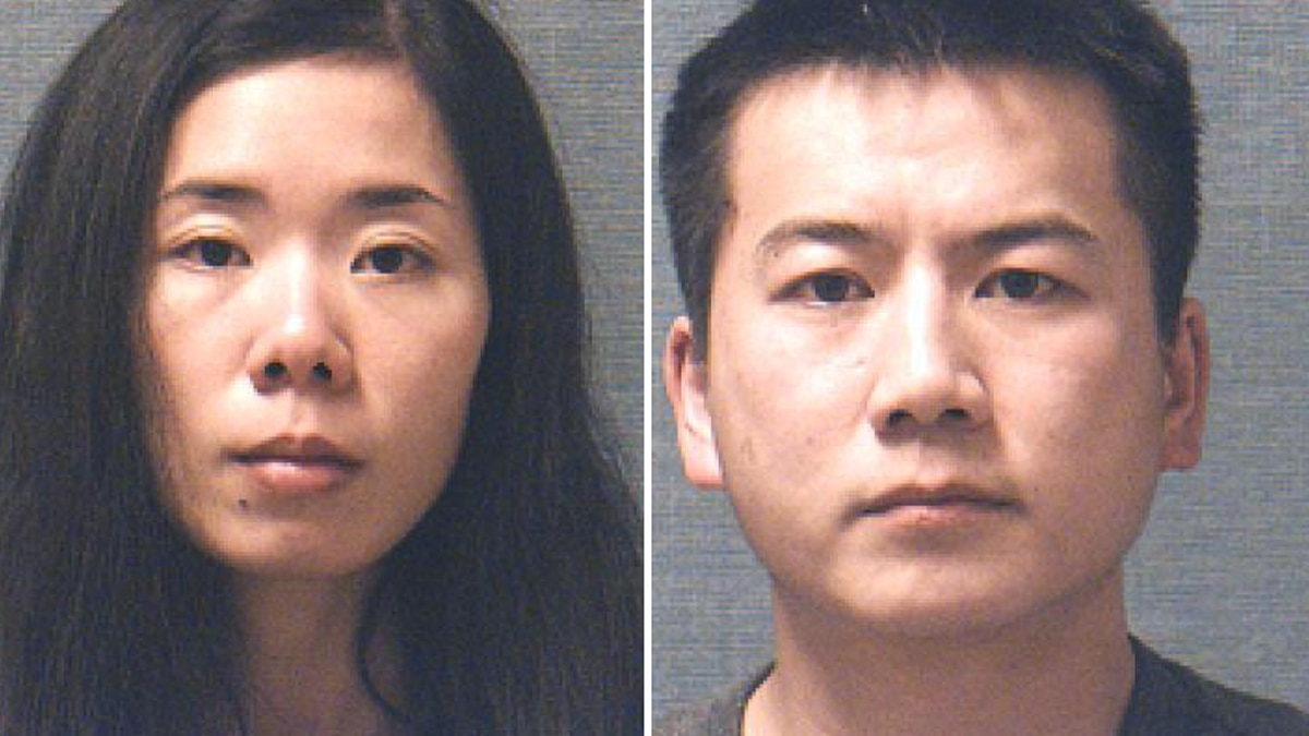 Chen (left) and Zhao (right). (Source: Police)