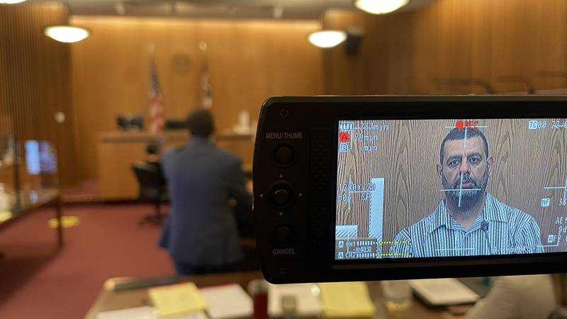 Abdel Bashiti's father testifying in court.