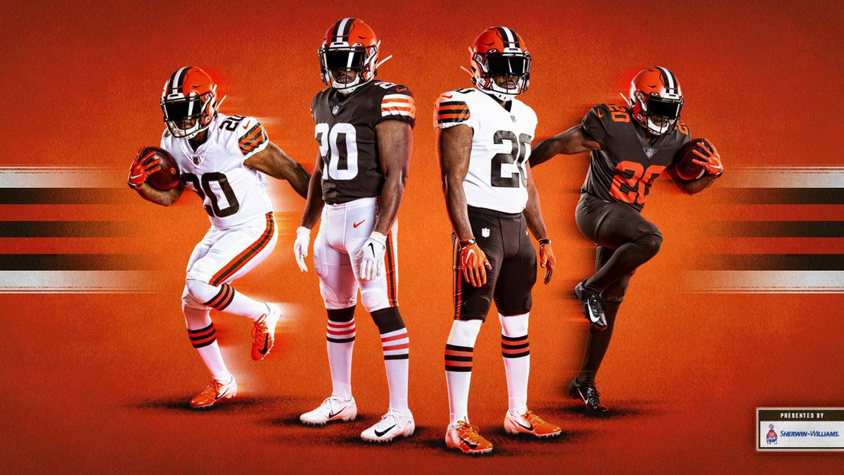 New Cleveland Browns uniforms going 'back to the roots' (Cleveland Browns)