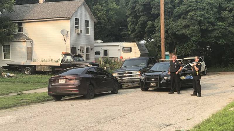 Police found the suspect's vehicle, a dark purple Kia, a couple hours later on East 86th and...
