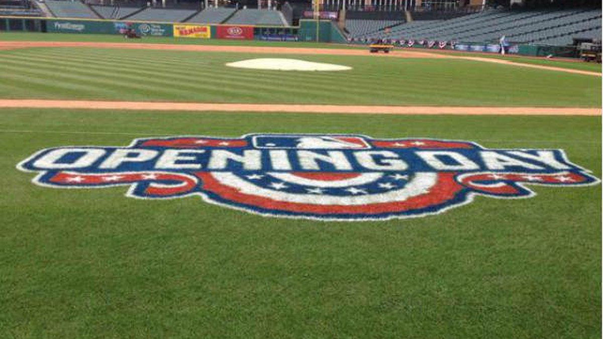 Indians home opener in 2015 (Source: WOIO)