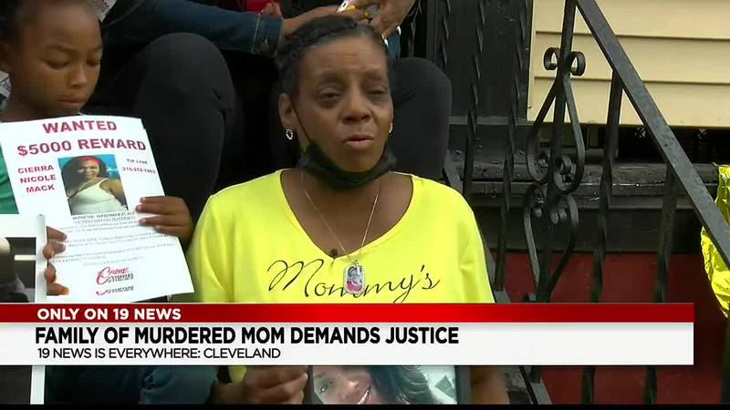 Cleveland family wants help to find the killer of mother of 3