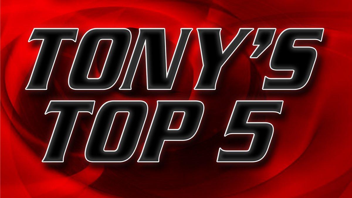 Tony's Top 5