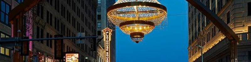 Cleveland Playhouse Square Chandelier, Chandelier Cleveland Cost