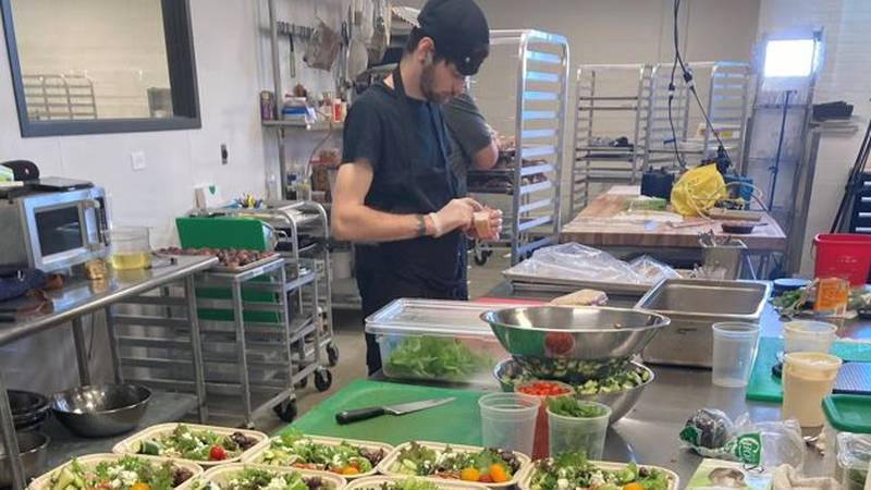 Keep the Change Kitchen Collective is a virtual food hall in Cleveland's Detroit Shoreway...