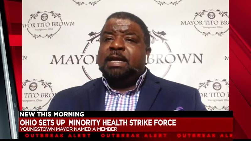 Youngstown Mayor Jamael Tito Brown has been selected to be on Gov. Mike DeWine's strike force...