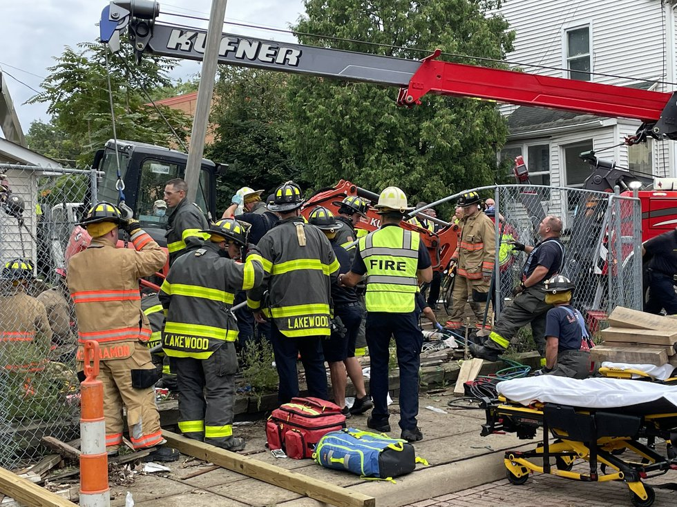 Construction worker injured in Lakewood accident. (Source: H-6 Photo)
