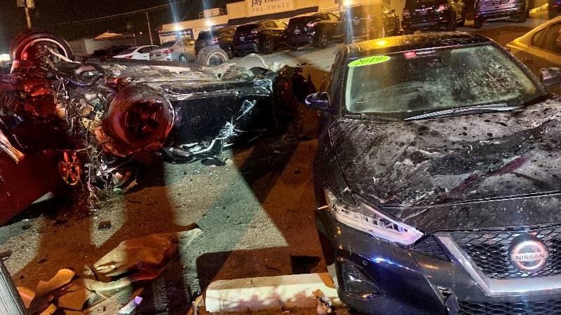 Accident happened around 11:30 p.m. on Jan. 9.