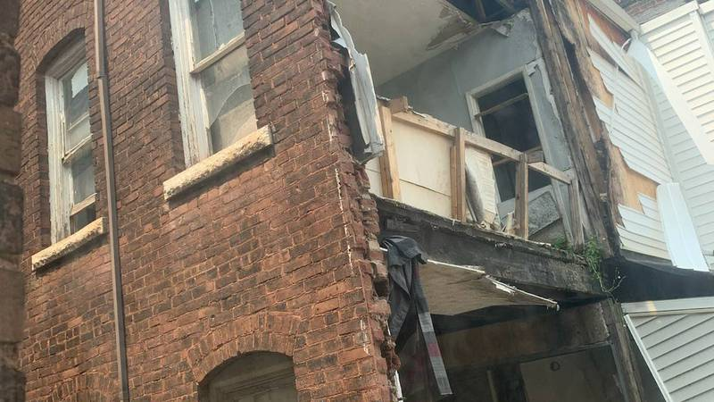 The residents who live nearby say the building is a ticking time bomb and they've been trying...