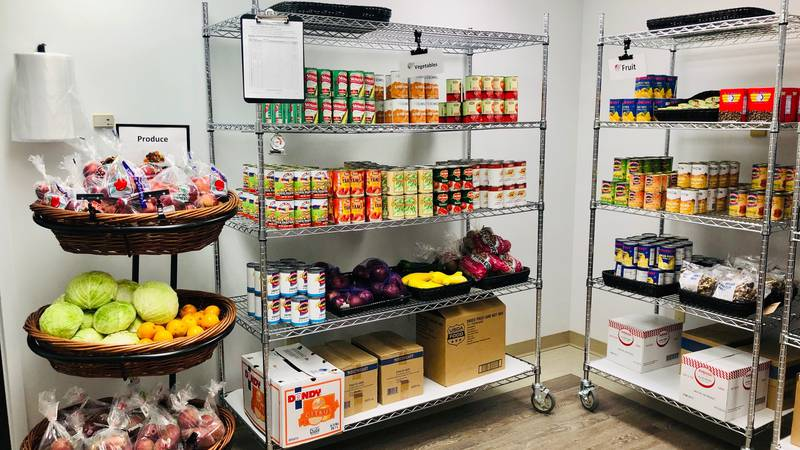 The Food for Life Market at UH Portage Medical Center provides a week's worth of healthy food...