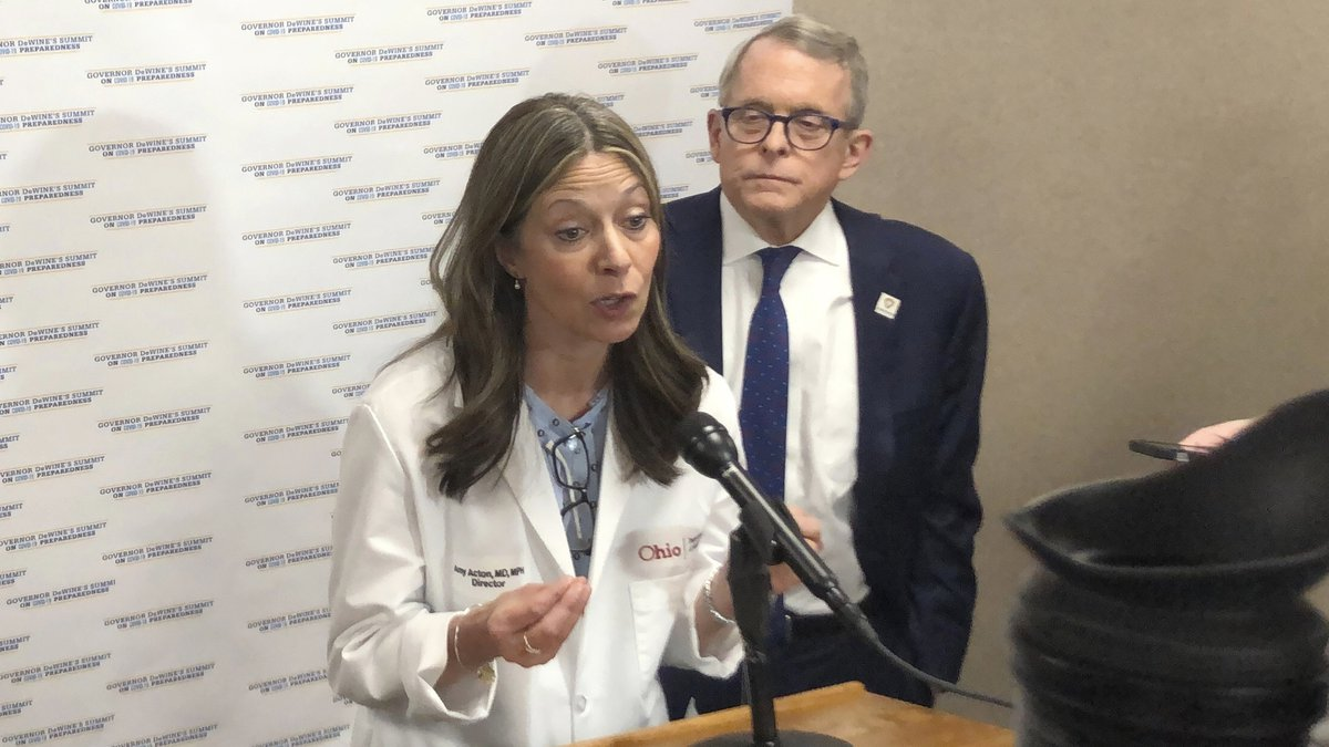 Dr. Amy Acton, Ohio Health Department Director, discusses the decision to issue an order...