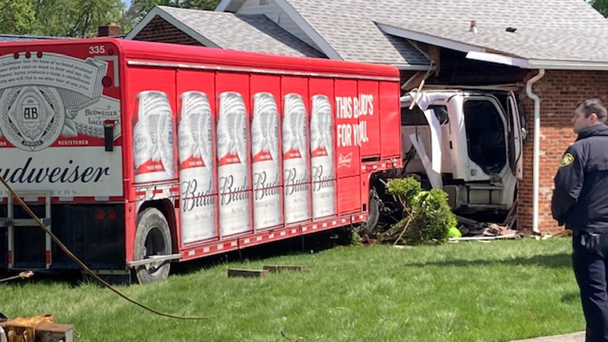 A beer truck crashed into an Avon Lake house this morning. Truck driver was transported to a...
