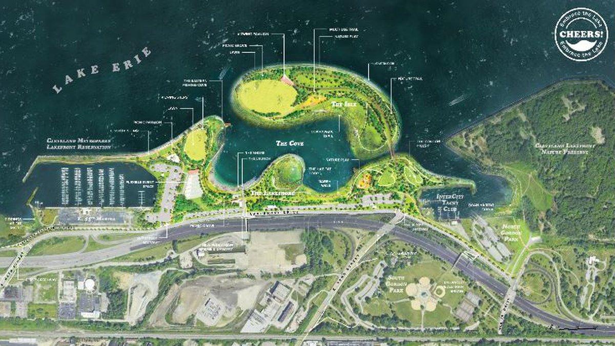 Metroparks unveils plans for Cleveland lakefront