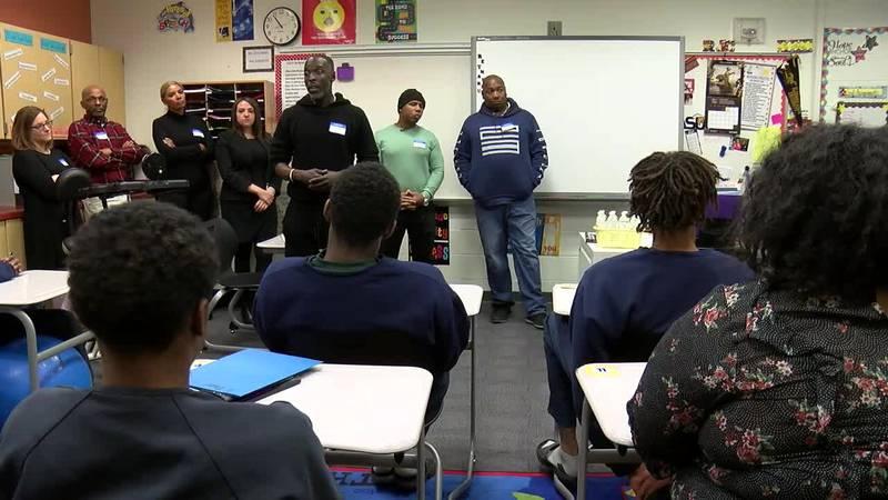 GF Default - Michael K. Williams visits Cuyahoga County Juvenile Detention Center