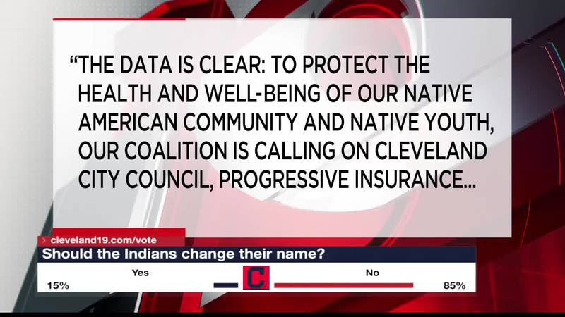 The possibility of Cleveland Indians changing their name gets a positive reaction from the...