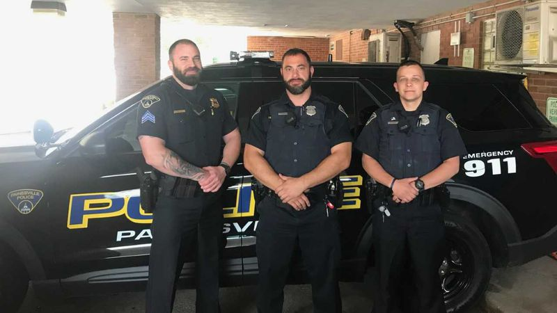 A 4-year-old boy was rescued Saturday by Painesville police officers. Sgt Matthew Tycast,...