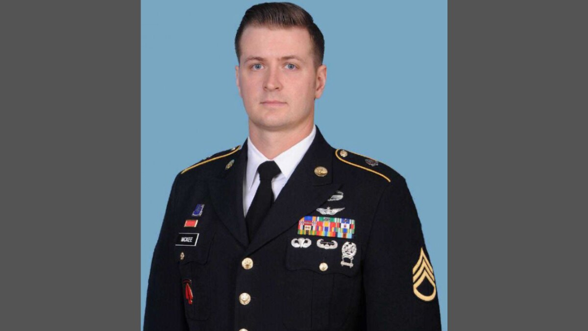 Staff Sgt. Kyle R. McKee, 35, was a UH-60 Helicopter Reparier assigned to Aviation Company,...