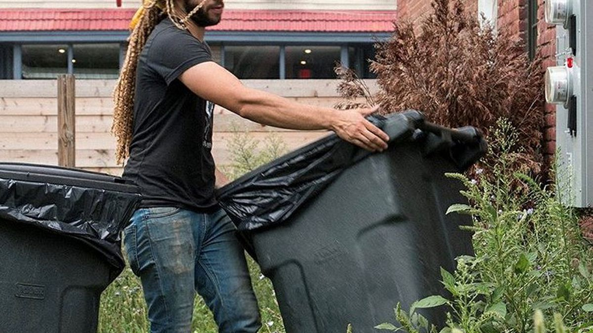 Compost team members with Rust Belt Riders will divert close to 3 million pounds of food scraps...