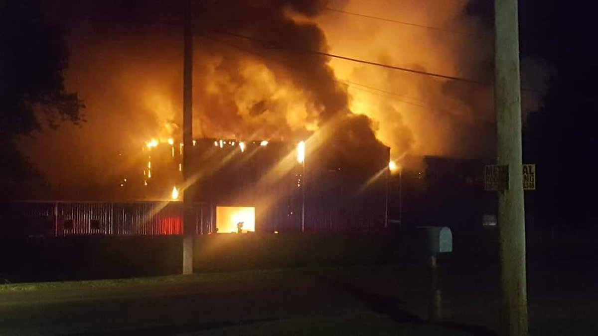 Fire at Colfor Manufacturing in Malvern causes damage, closes schoo