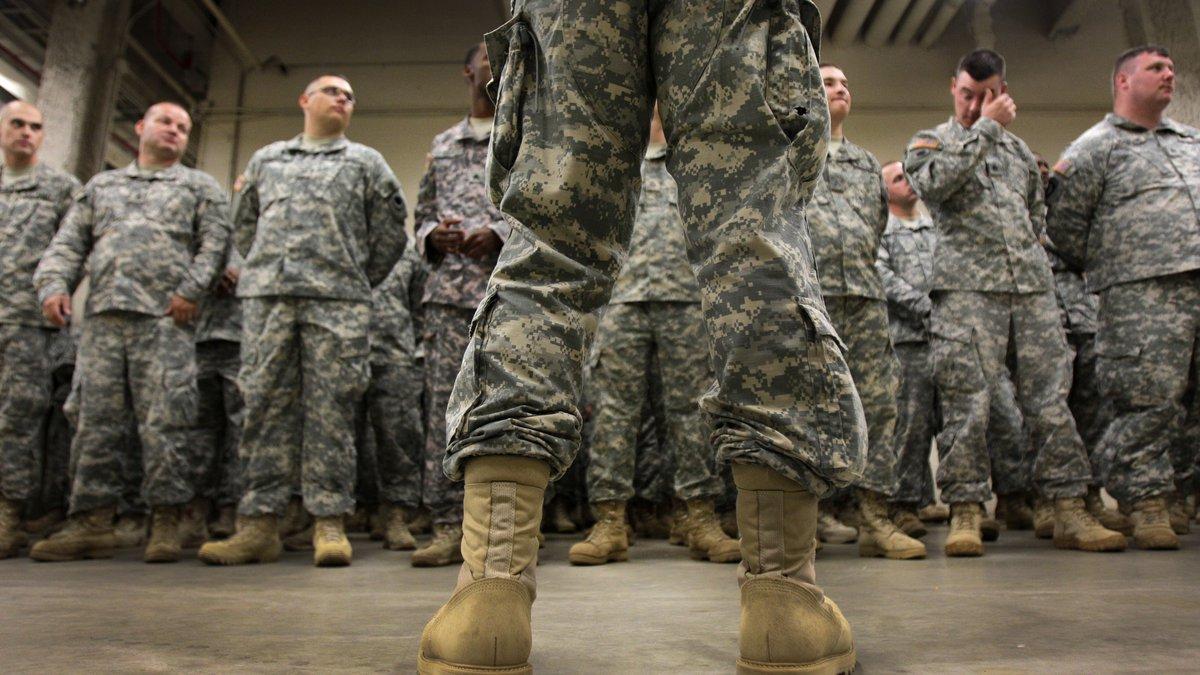 Ohio National Guard.  (AP Photo/Amy Sancetta)