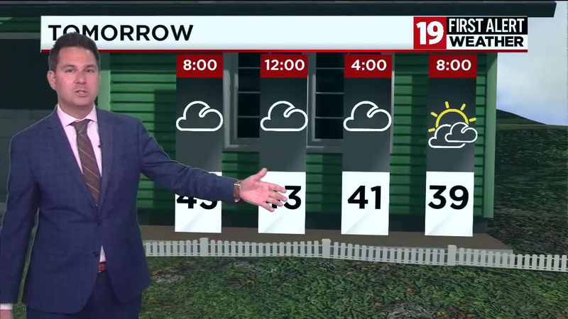 Northeast Ohio weather: Freeze Warnings and lake effect snow Friday night into Saturday