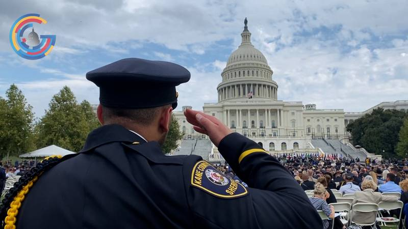 Ohio police officer remembered at nation's Capitol